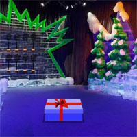 Free online flash games - Wow Christmas Ice Theme Park Escape