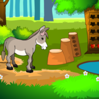 Free online html5 escape games - G2M Donkey Rescue