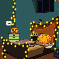 Free online flash games - SiviGames End of Halloween game - WowEscape
