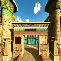 Free online flash games - 365Escape Cleopatras Temple game2rule