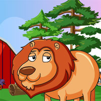 Games4King Lion Rescue