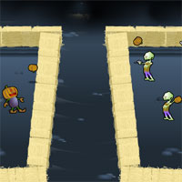 Free online html5 games - Night of 1000 or so Zombies game