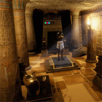 Free online flash games - GFG Inside Egypt Pyramid Escape