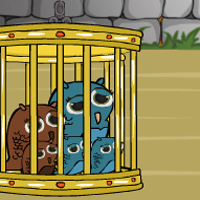 Free online flash games - Owl Family Rescue From Cage