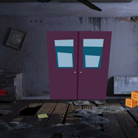 Free online flash games - GFG Abandoned Room Player Rescue game - WowEscape