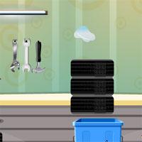 Free online flash games - GFG Genie Messy Garage Escape game - WowEscape