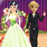 Free online flash games - Miraculous Ladybug Perfect Bride game - WowEscape