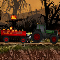 Free online flash games - Halloween Pumpkin Delivery game - WowEscape
