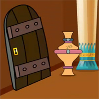 Free online flash games - Pyramid Treasure Escape GenieFunGames