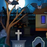 Free online flash games - G2M Dark Cemetery Escape game - WowEscape
