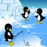 Free online flash games - Angry Penguin AngryBirdsGames game - WowEscape