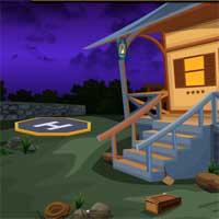 Free online flash games - Escape with Helicopter KnfGames game - WowEscape