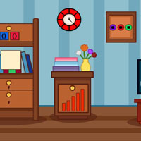 Free online html5 games - GFG Kids Study Room Escape game