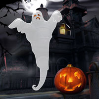 Free online flash games - Halloween Hidden Ghost game - WowEscape