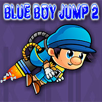 Free online flash games - Blue Boy Jump 2 game - WowEscape