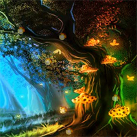 Free online flash games - HOG Hidden Fantasy Firefly game - WowEscape