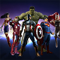 Free online flash games - Find Them Superheroes game - WowEscape