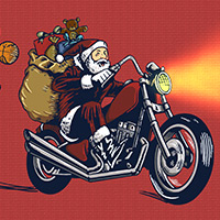 Free online flash games - Santa Motocross Action game - WowEscape