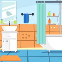 Free online flash games - Vibrant Bathroom Escape game - WowEscape