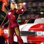 Free online flash games - Iron Man Dodge Race game - WowEscape
