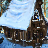 Free online flash games - Ena The Frozen Sleigh-Watcher House Escape game - WowEscape