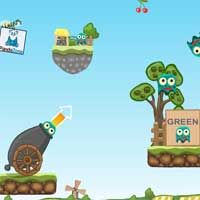 Free online flash games - Monsters Packer Pandazone game - WowEscape