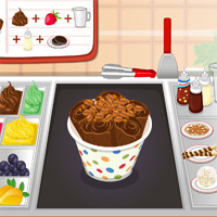 Free online flash games - Thai Ice Cream Rolls game - WowEscape