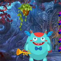 Free online flash games - Games4King Musician Monster Rescue game - WowEscape