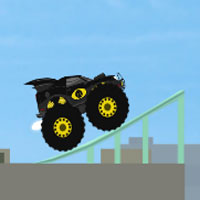 Free online flash games - Monstertruck Superhero game - WowEscape