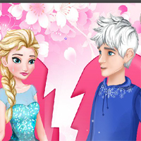 Free online flash games - Elsa Leaves Jack Frost game - WowEscape