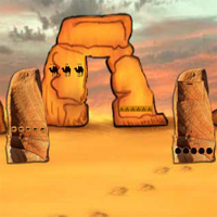 Free online flash games - Find the Golden Camel in Desert 2 game - WowEscape