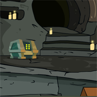 Free online flash games - Wicked Cave Escape