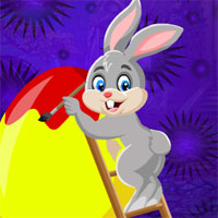 Free online flash games - G4K Painter Rabbit Escape