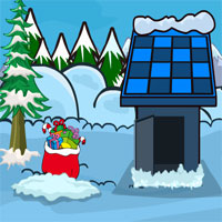 Free online flash games - Snowland Christmas Tree game - WowEscape