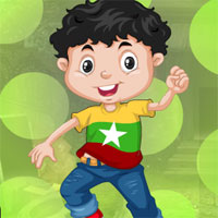 Free online flash games - G4K Joyous Boy Escape game - WowEscape