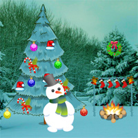 Free online flash games - Big Christmas Land Escape game - WowEscape