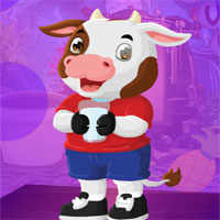 Free online flash games - G4K Comely Cow Escape