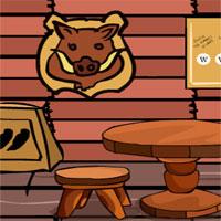 Free online flash games - GFG Hunter House Escape game - WowEscape