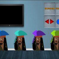 Free online html5 escape games - 8b Pirate Treasure Escape