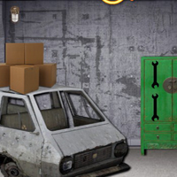 Free online flash games - Ekey Garage Machine Room Escape