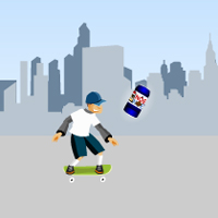 Free online flash games - Noel Noel Skateboarding game - WowEscape
