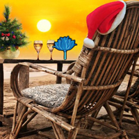 Free online html5 games - New Year Beach Celebration Escape game