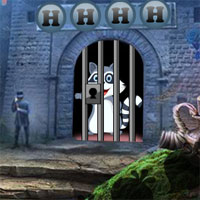 Free online flash games - G4K Delighted Raccoon Escape