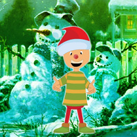 Free online flash games - Christmas Day Hostage Boy Rescue game - WowEscape