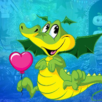 Free online flash games - G4K Amour Dragon Escape game - WowEscape