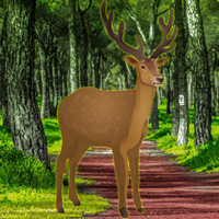 Free online flash games - Trapped Deer Rescue
