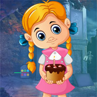Free online flash games - G4K Rescue The Birthday Girl game - WowEscape
