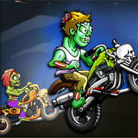 Free online html5 games - Zombies Super Race game