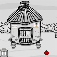 Free online flash games - Games2Jolly Black And White Forest Gold Escape game - WowEscape