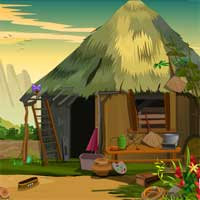 Free online flash games - Rescue Red Macaw Bird game2rule